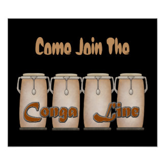 Conga Line Poster