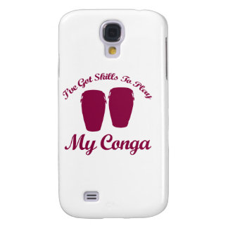 conga musical designs galaxy s4 cover