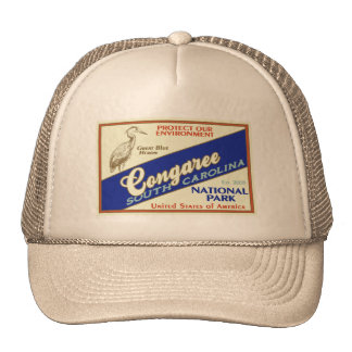 Congaree National Park (Heron) Trucker Hat