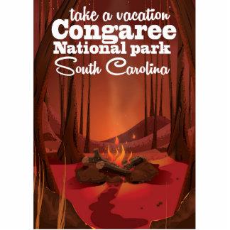 Congaree National park travel poster Cutout