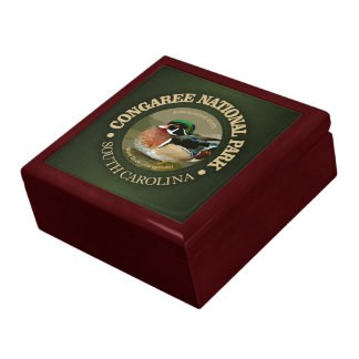 Congaree National Park (Wood Duck) Jewelry Box