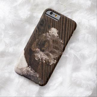 Congelado a tiempo - una impresión capturada de la funda barely there iPhone 6