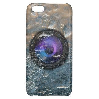 Congelado en caso del iPhone 5 de la lente de cáma