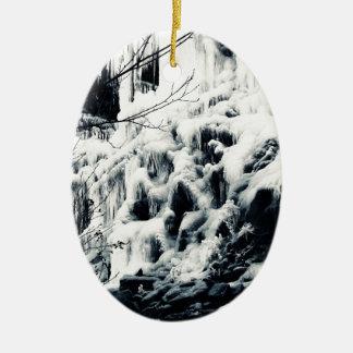 Congelado Ornamentos De Navidad
