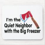 Congelador grande vecino reservado tapetes de ratón