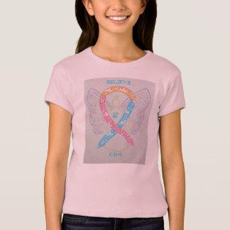Congenital Diaphragmatic Hernia Ribbon Angel Shirt