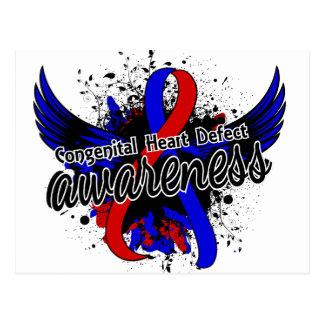 Congenital Heart Defect Awareness 16 Postcard