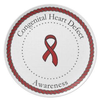 Congenital Heart Defect Awareness Plate