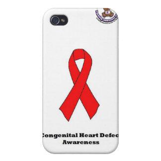 Congenital Heart Defect iPhone 4 Case