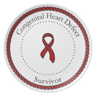 Congenital Heart Defect Survivor Plate
