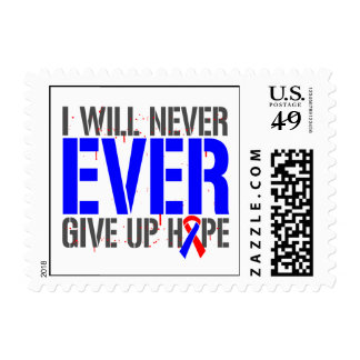 Congenital Heart Defects I Will Never Ever Give Up Stamps