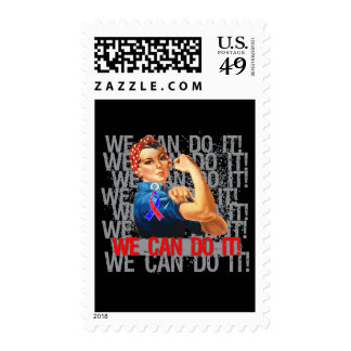 Congenital Heart Defects Rosie WE CAN DO IT Postage Stamps