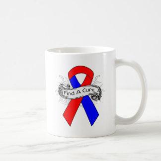 Congenital Heart Disease Find A Cure Ribbon Mugs