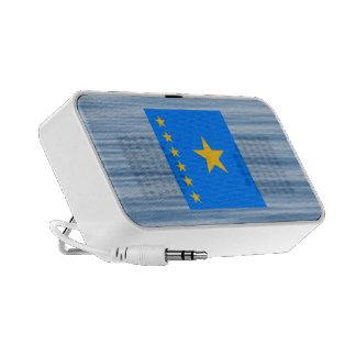 Congese Flag Floating on water Travelling Speakers