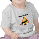 Congestión mental para arriba a continuación (humo camisetas