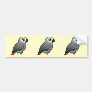 Congo African Grey Bumper Sticker