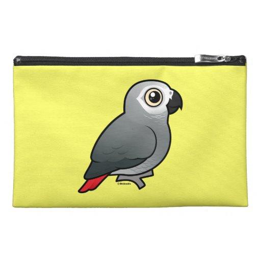 Congo African Grey & Caique Crazy Custom Travel Accessory Bag