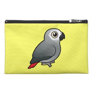 Congo African Grey & Caique Crazy Custom Travel Accessory Bags