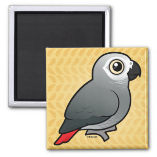 Congo African Grey Magnets