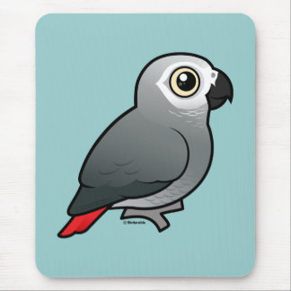 Congo African Grey Mouse Pad
