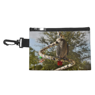 Congo African Grey on a Swing Accessory Bag