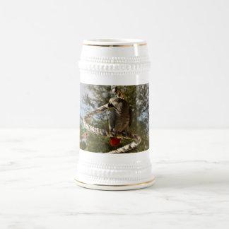 Congo African Grey on a Swing Mug