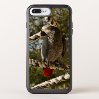 Congo African Grey on a Swing Speck iPhone Case
