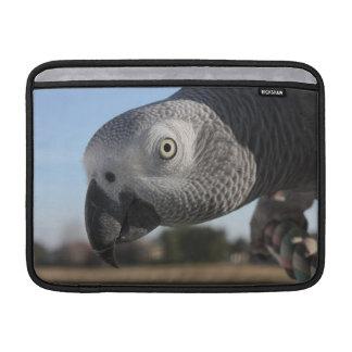 Congo African Grey Parrot MacBook Air Sleeves
