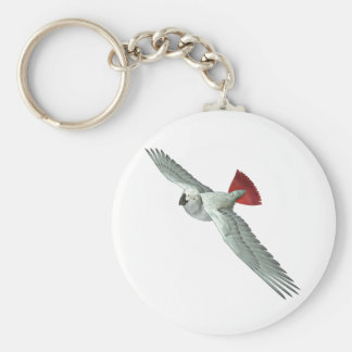 Congo African Grey Parrot Keychains