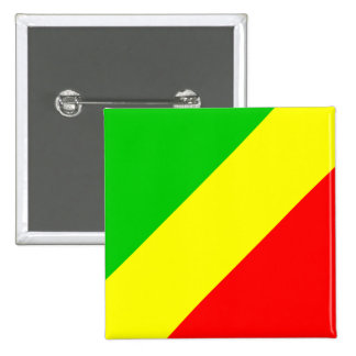 Congo Brazzaville High quality Flag Pin