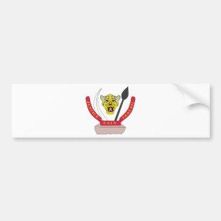 Congo Coat of arms CD Bumper Sticker