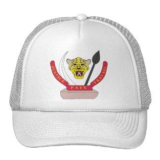 Congo Coat of arms CD Mesh Hats