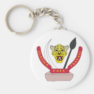 Congo Coat of arms CD Keychain