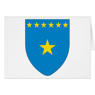 Congo Coat of Arms Greeting Card