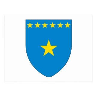 Congo Coat of Arms Postcard