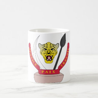 congo democractic emblem coffee mug