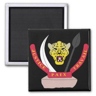 congo democractic emblem magnet