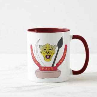 congo democractic emblem mug
