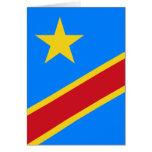 congo democratic greeting cards