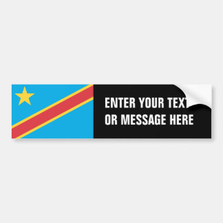 Congo (Democratic Republic) Bumper Sticker
