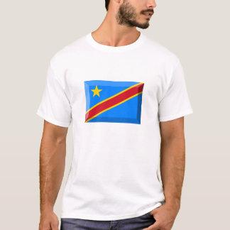 Congo Democratic Republic Flag Jewel T-Shirt