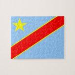 Congo Democratic Republic Flag Puzzles