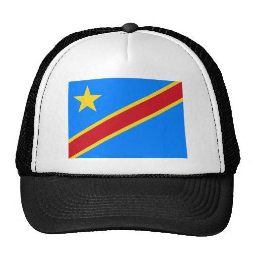 congo democratic trucker hat