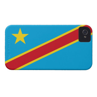 Congo (DR) Barely There™ iPhone 4 Case