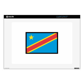 CONGO DR FLAG DECALS FOR LAPTOPS
