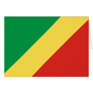 Congo Flag Card