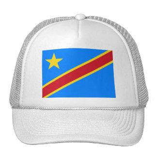 Congo flag CD Mesh Hats