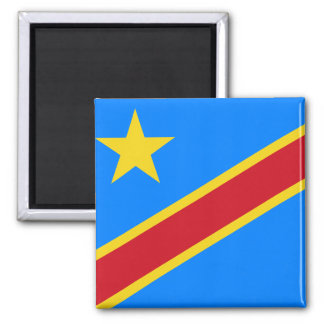 Congo flag CD Magnets