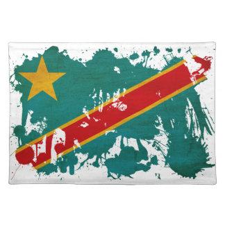 Congo Flag Cloth Placemat
