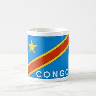 congo flag country text name coffee mug